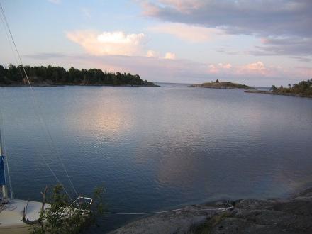 Solnedgång i Skärgården