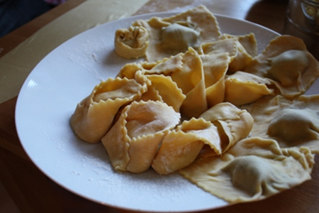 Tortellini och Ravioli
