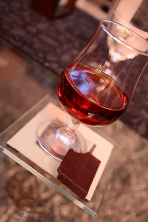 Portvin o choklad