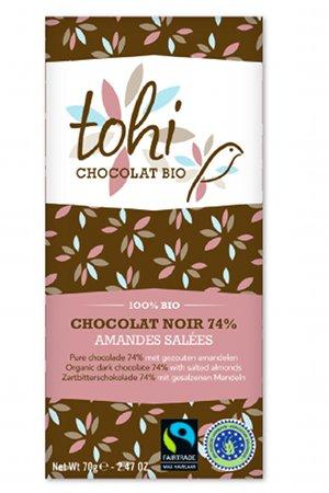 Tohi choklad med salta mandlar